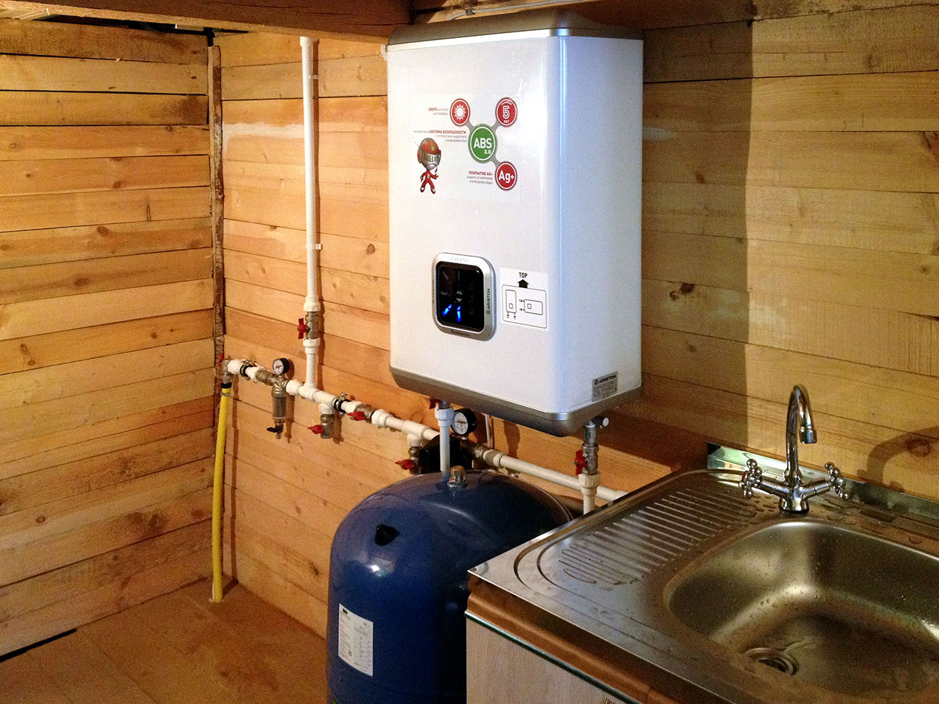 Водопровод в загородном доме своими руками 13