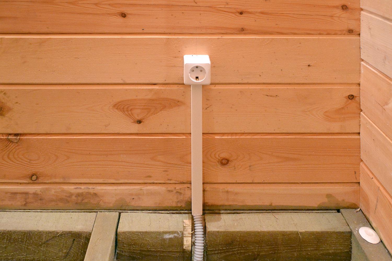 Как сделать электрику для бани 546
