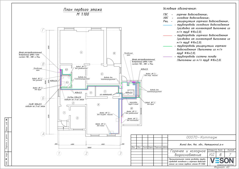 Схемы гвс 9 этажного дома